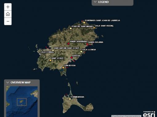 Situación ambiental de las depuradoras y emisarios submarinos de las Pitiusas