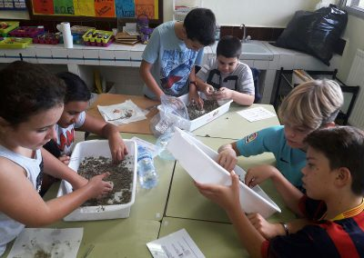 Plàstics al aula