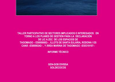 Informe Taller Participatiu Xarxa Natura 2000 Tagomago
